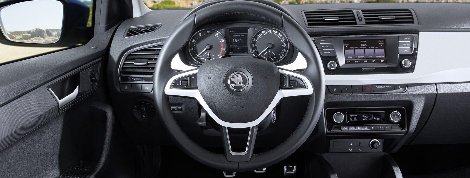2014 Skoda Fabia Interior Autos Post