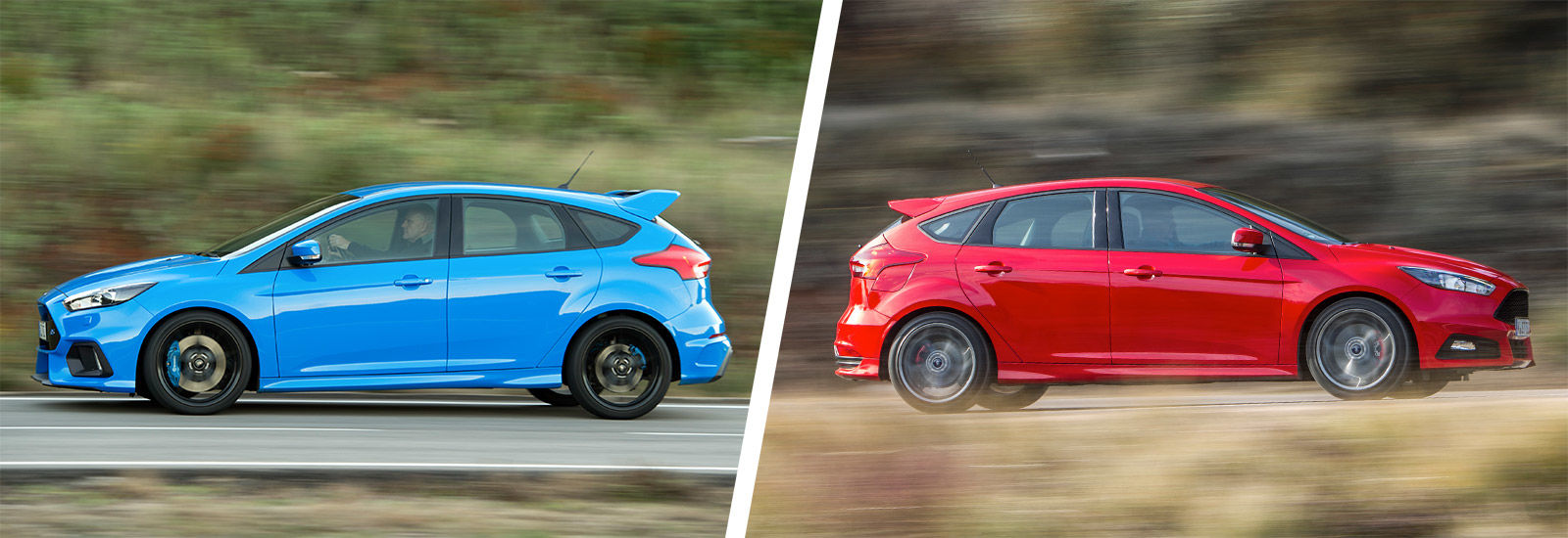 Ford Focus RS vs Focus ST engines & Ford Focus RS vs Focus ST: hot hatches compared | carwow markmcfarlin.com