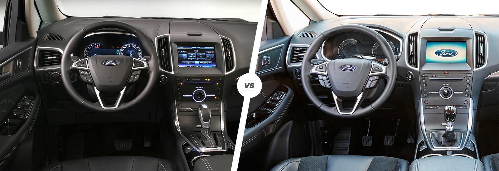Ford galaxy vs ford s max comparison carwow for Max interior