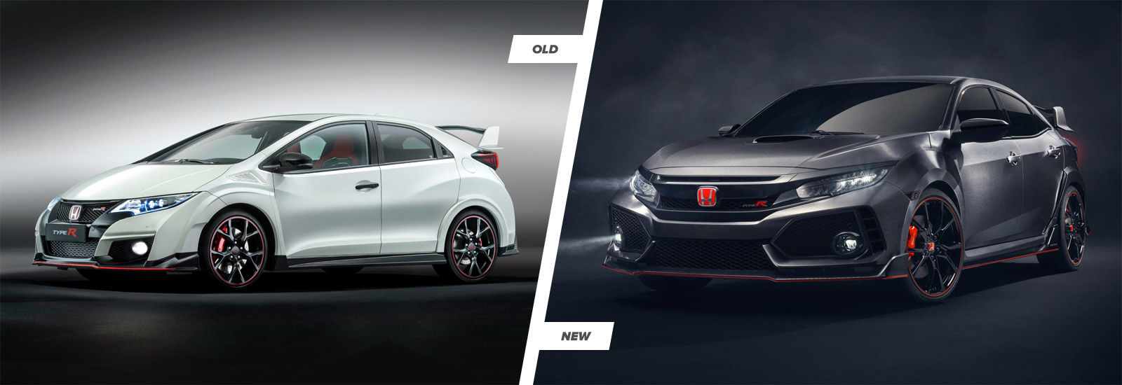 honda civic type r new vs old compared carwow