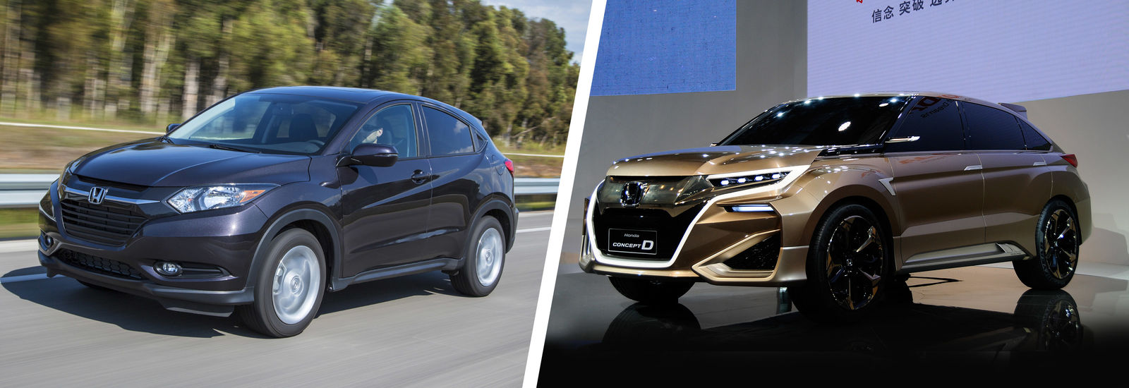 The new CR-V could borrow design touches from the new HR-V and the ...
