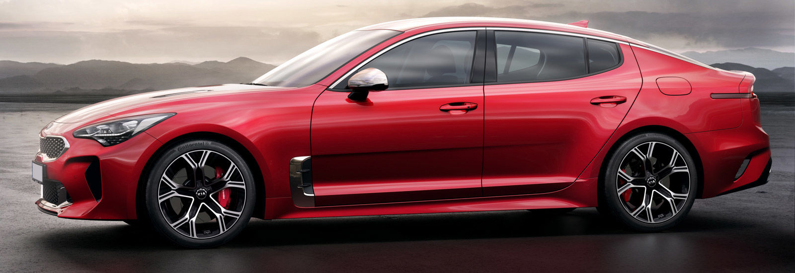 2018 kia stinger price. exellent stinger red kia stinger gt side view intended 2018 kia stinger price 1