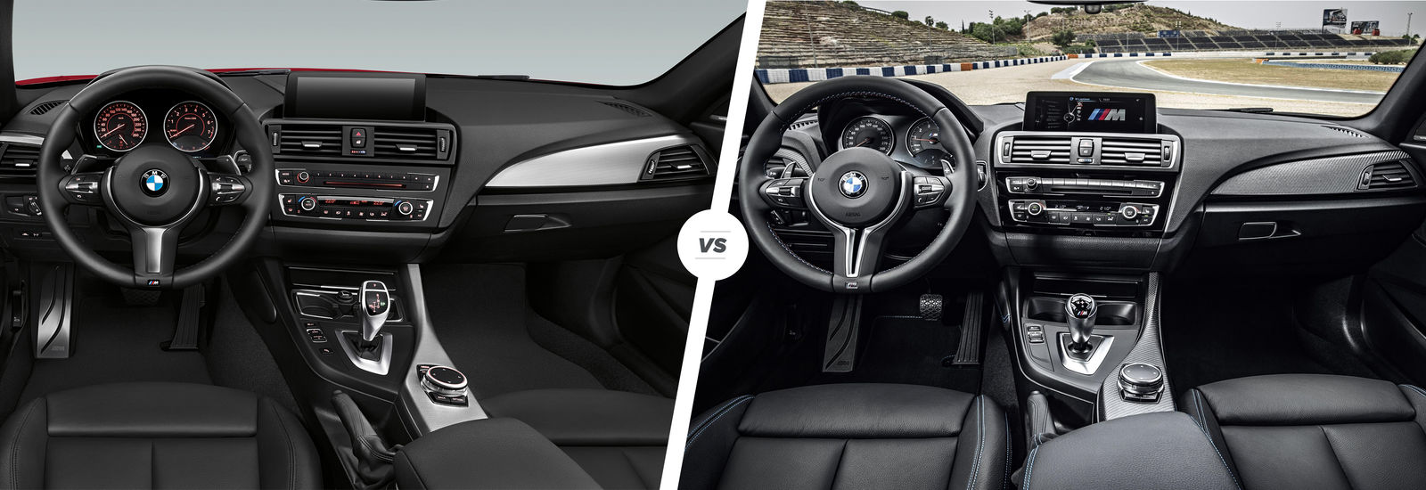 BMW M235i Vs M2 Interior