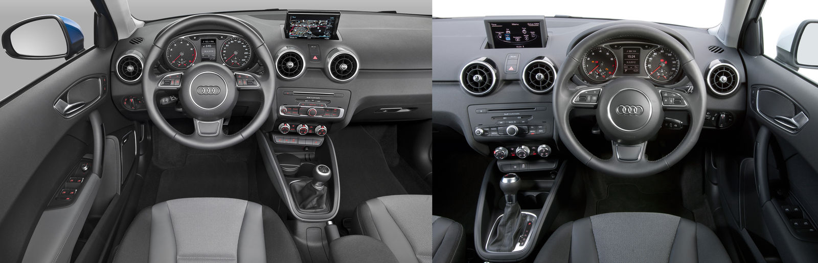 Audi A1 Facelift What S New Uk Side By Side Comparison