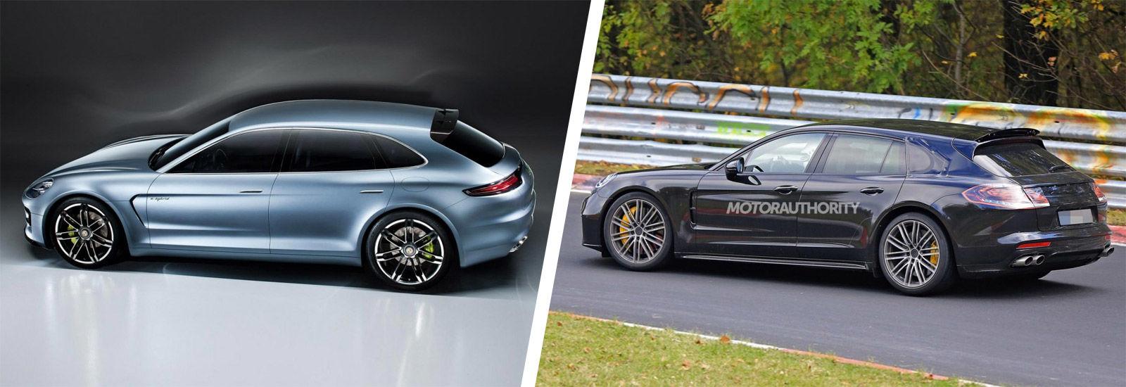 2018 Porsche Panamera Shooting Brake Styling