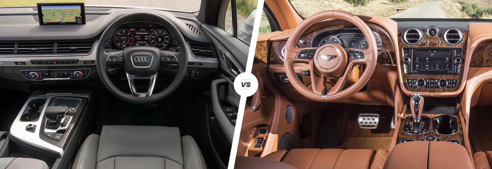 Bentley Bentayga vs Audi Q7 | carwow