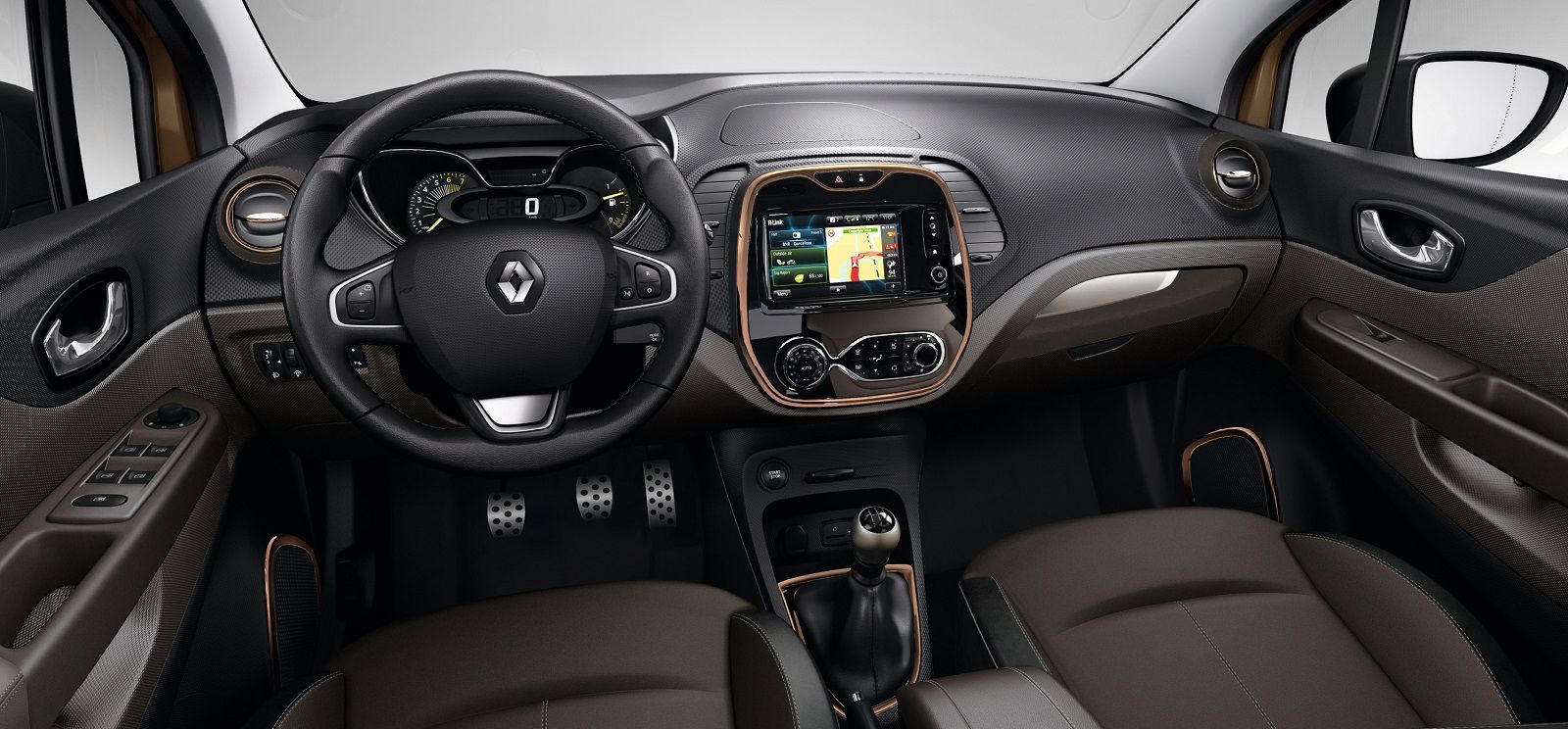 Renault captur iconic special edition released carwow for Interior renault captur