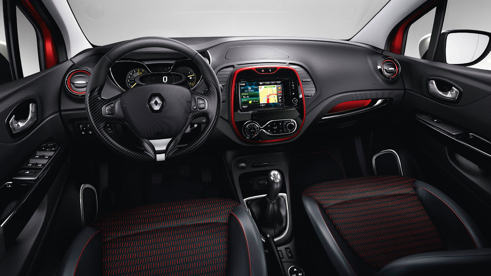 2014 renault captur signature details and specification for Interior renault captur