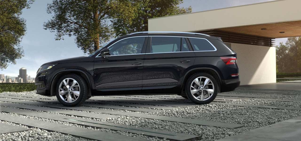 Black Kodiaq >> Skoda Kodiaq colours guide and prices | carwow
