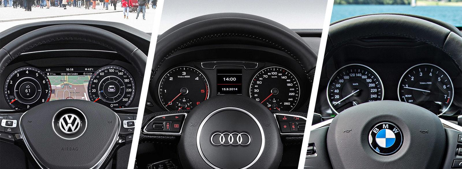 VW Tiguan vs Audi Q3 vs BMW X1 comparison | carwow