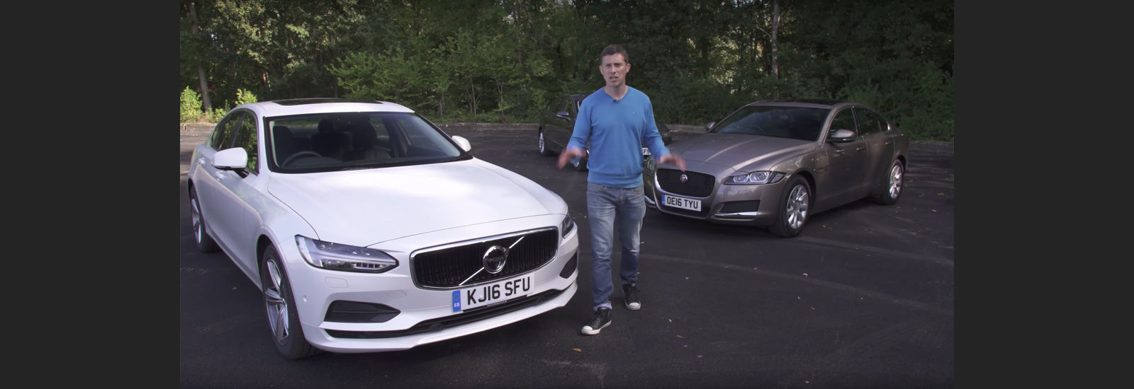 Mat Watson and Volvo S90 and Jaguar XF