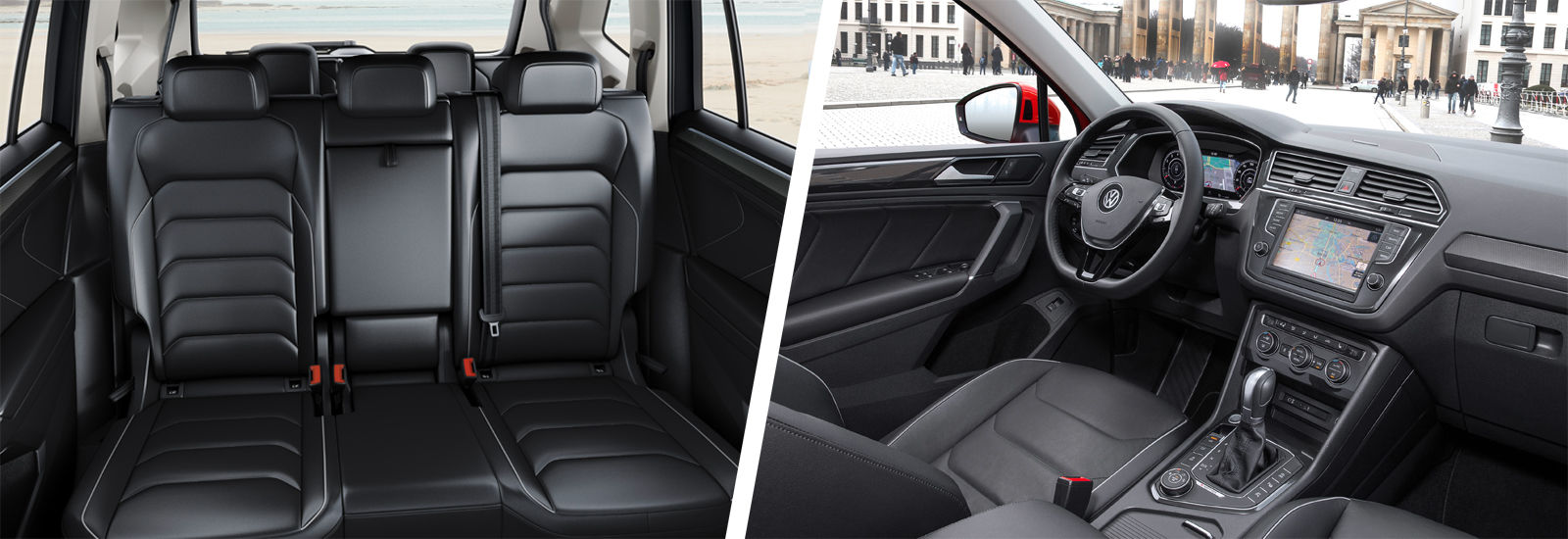 VW Tiguan Allspace 7 Seater Vs 5 Carwow