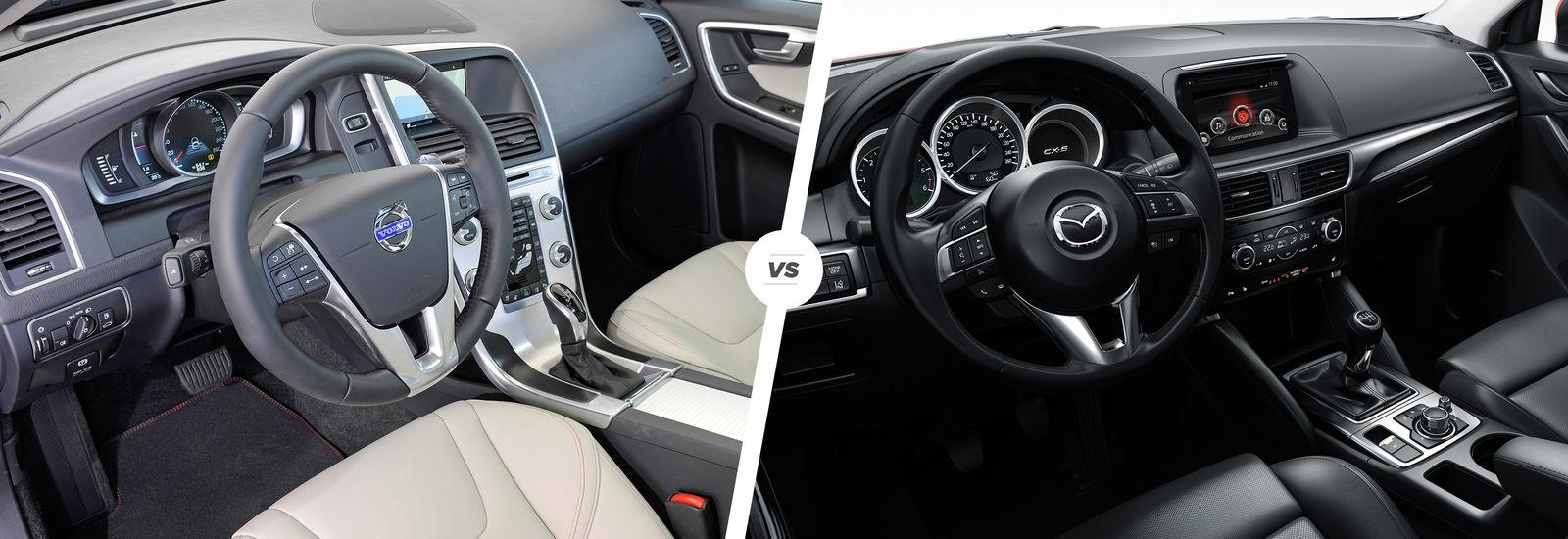 Volvo XC60 vs Mazda CX-5: SUV face-off | carwow