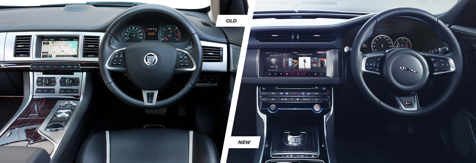Jaguar Xf Old Vs New Compared Carwow