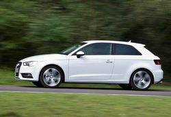 Content audi a3 driving