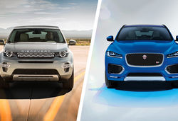 Land rover disco sport vs jag f pace