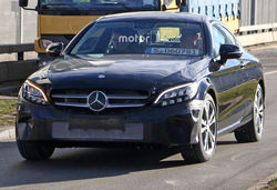 Mercedes c class coupe facelift lead