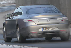 Mercedes s class coupe prototype rear lead