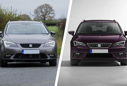 Seat leon facelift lead