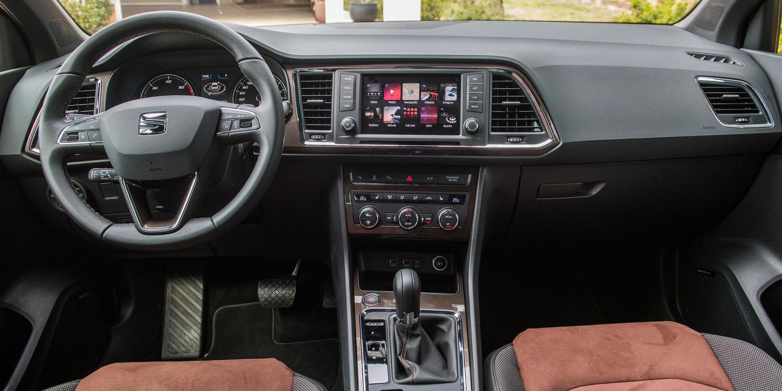 Seat Arona Vs Ateca >> SEAT Ateca Review | carwow